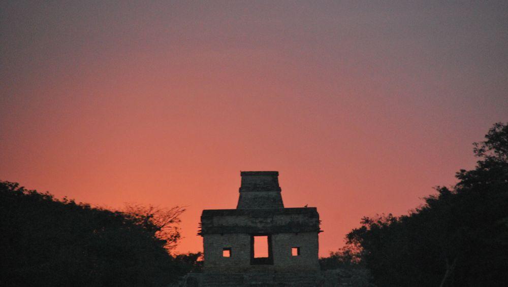 Spring Equinox 2014 Dzibilchaltun Yucatan  by amybudd1