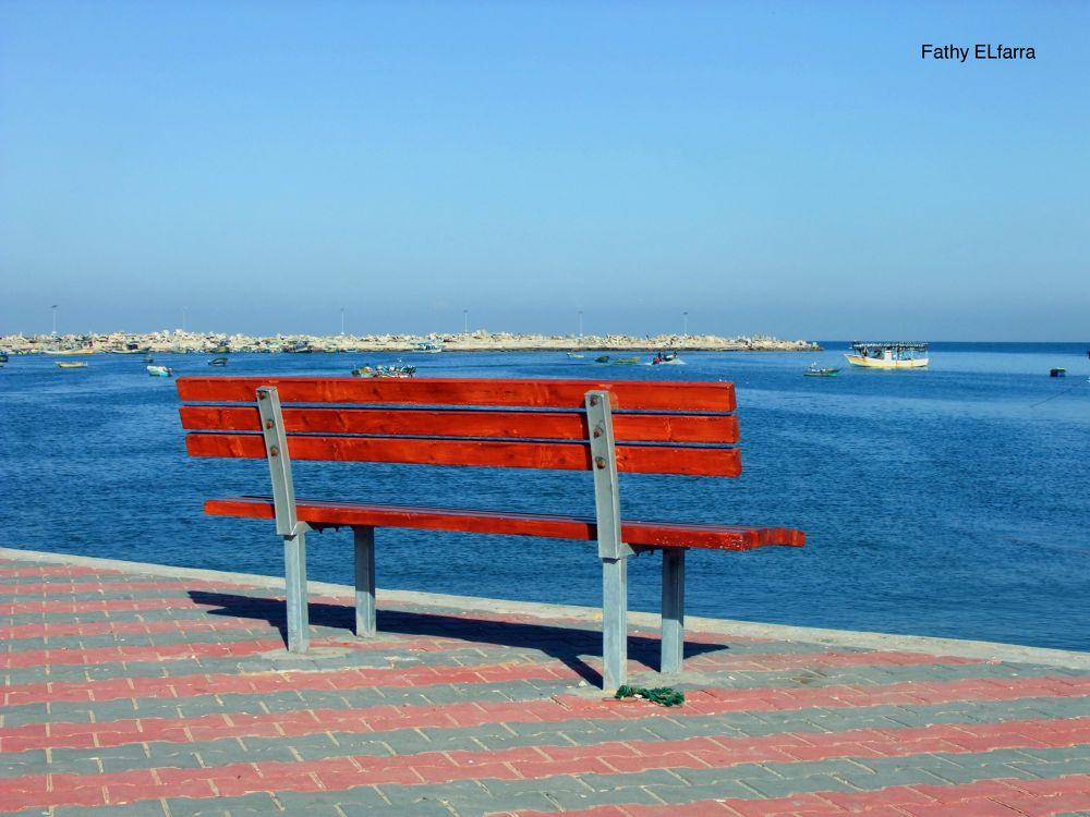 Here Gaza by FathyELfarra