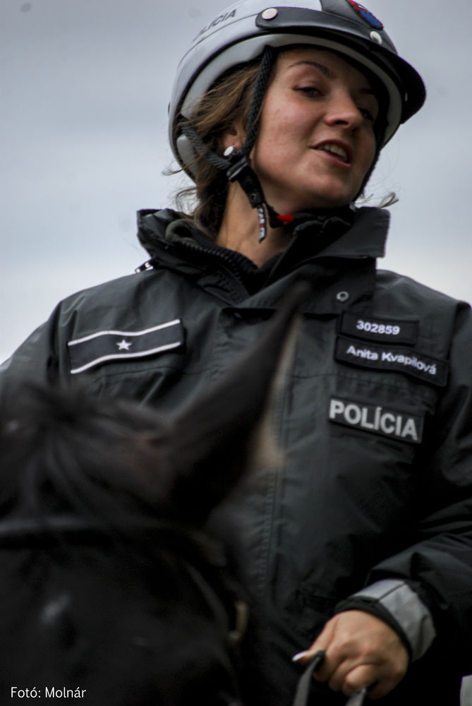 Slovak police woman  by Alexander Molnár