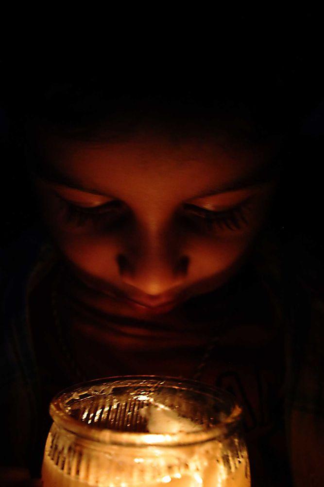 Candle boy by Muhammed Riyaz