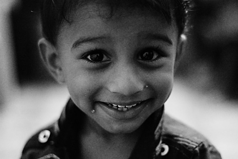 the sweetest smile by Muhammed Riyaz