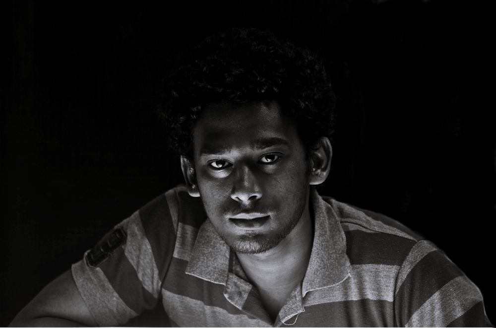 :) black and white is better than other :) shades make photo powerful by Muhammed Riyaz