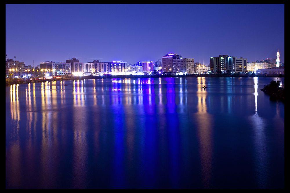 beautiful night by Muhammed Riyaz