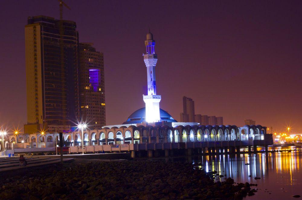 floating mosque by Muhammed Riyaz