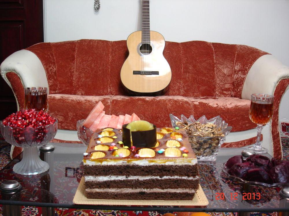 yalda party by Guitar