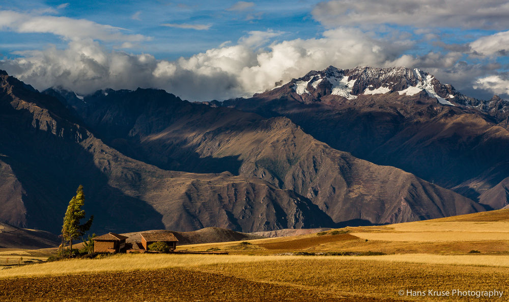 Peruvian landscape by Hans Kruse