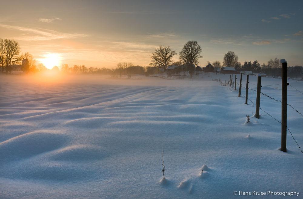 Winter in Sweden by Hans Kruse