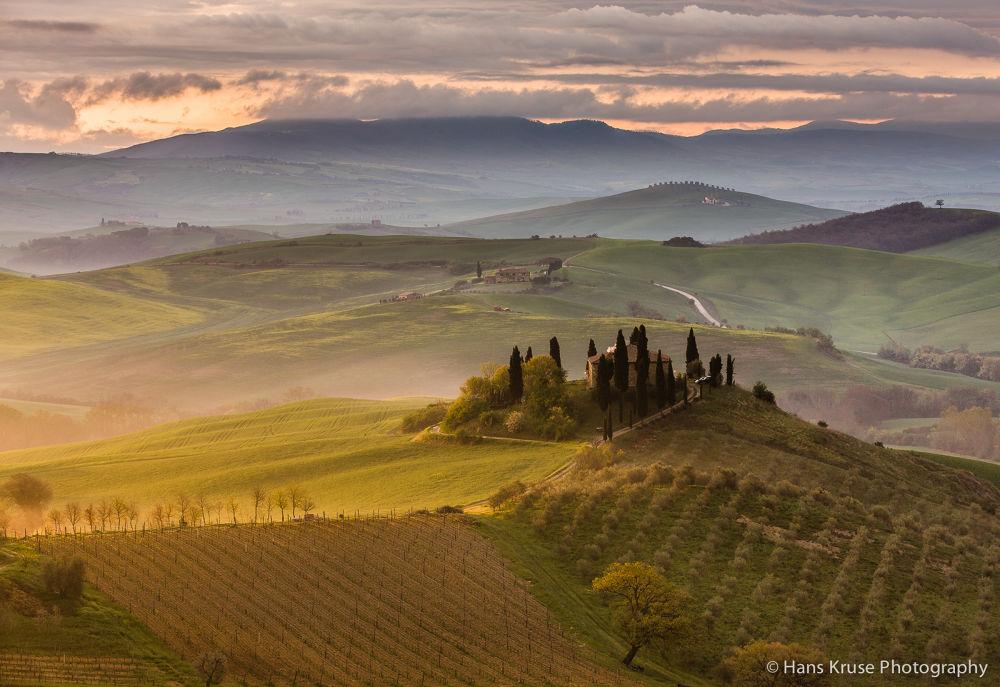 Tuscan feeling by Hans Kruse
