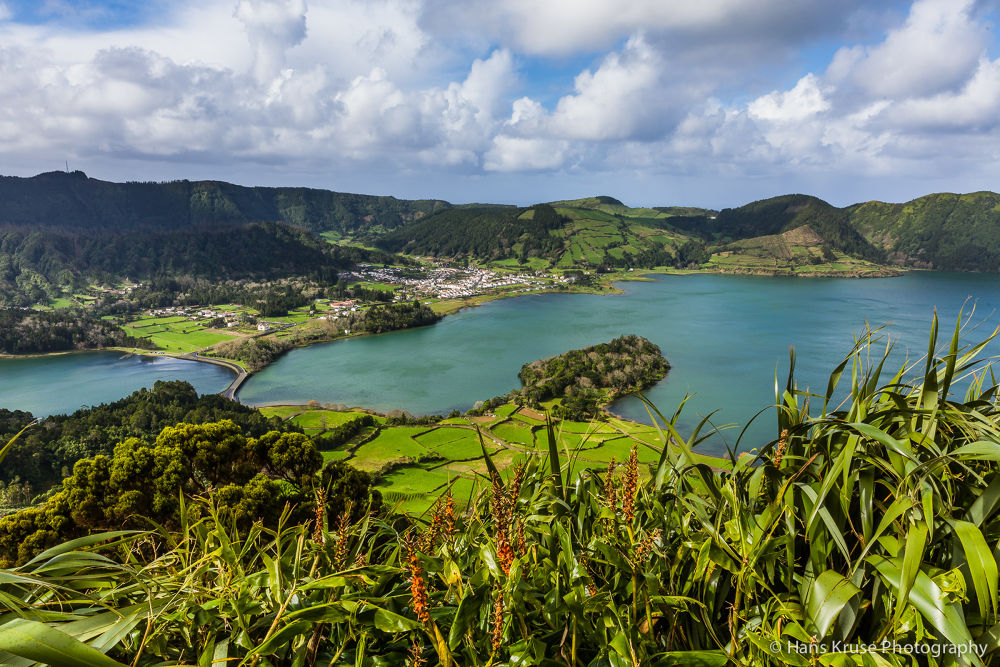 Crater lakes on Sao Miguel by Hans Kruse