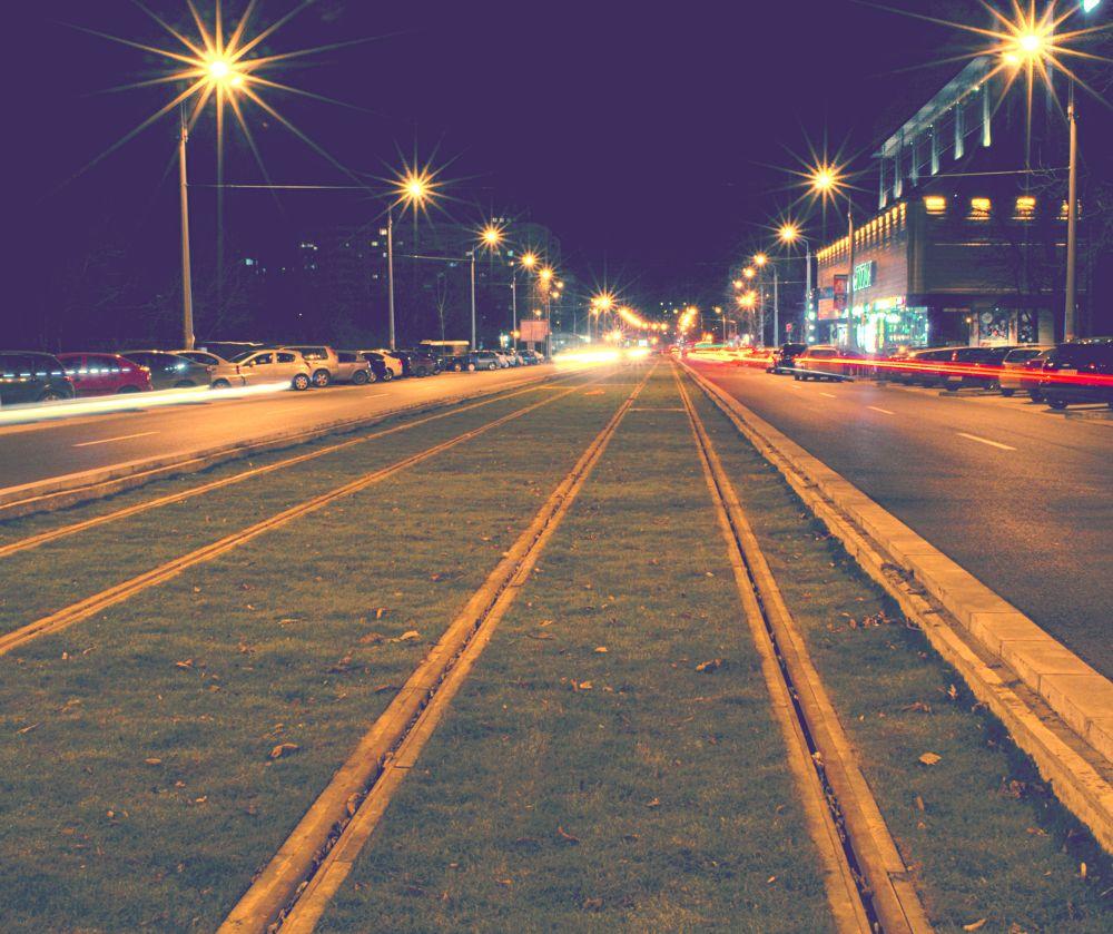 lines in the night by Alexandra - Ioana Pascariu