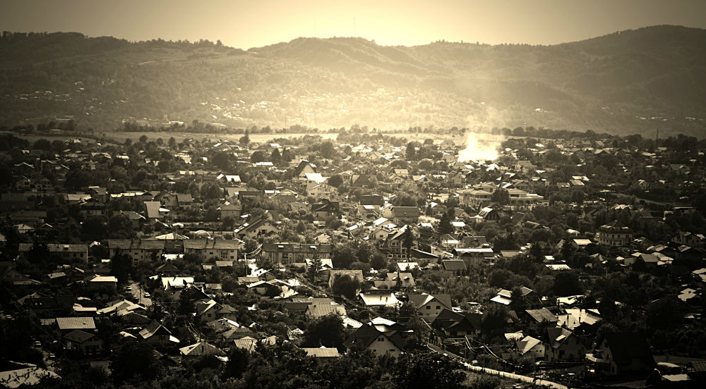Smoking town by Alexandra - Ioana Pascariu