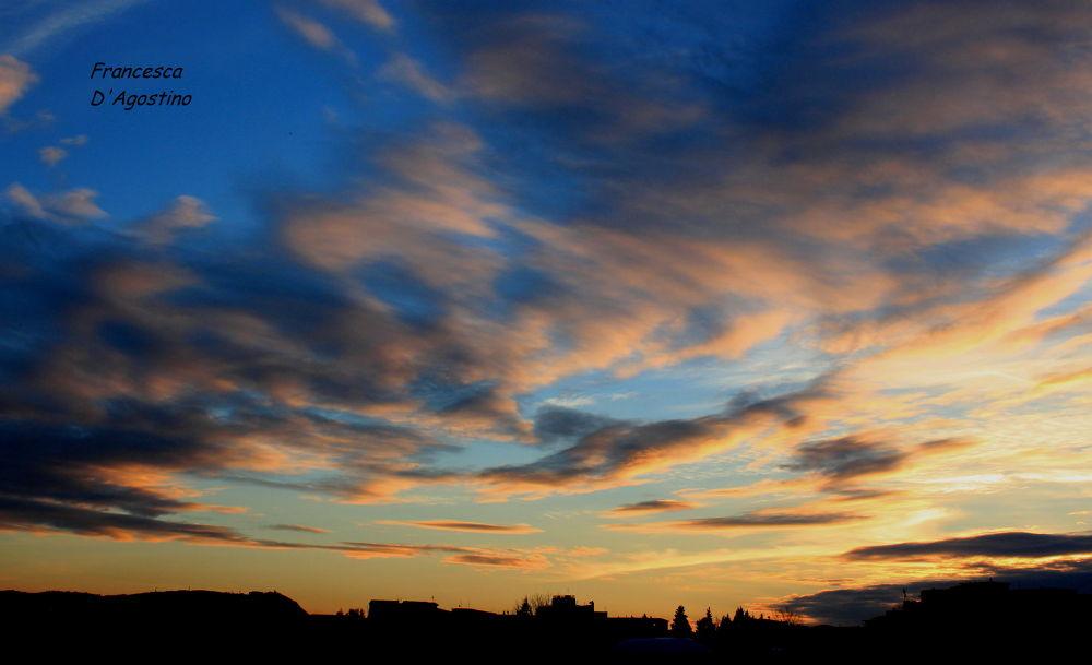 Vortici colorati nel cielo by Francesca D'Agostino