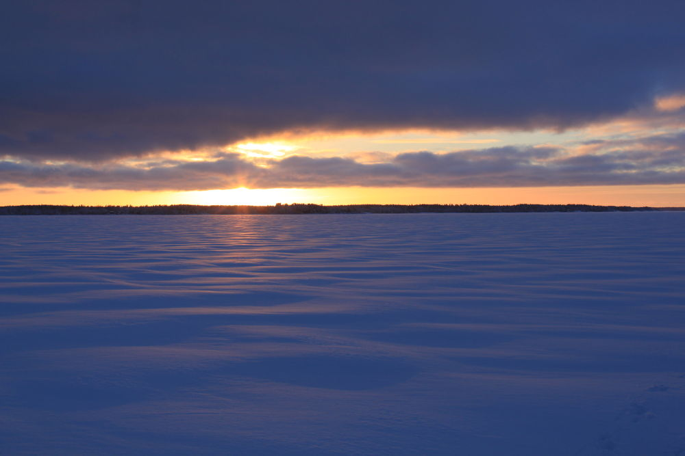 Frozen sea by Matb