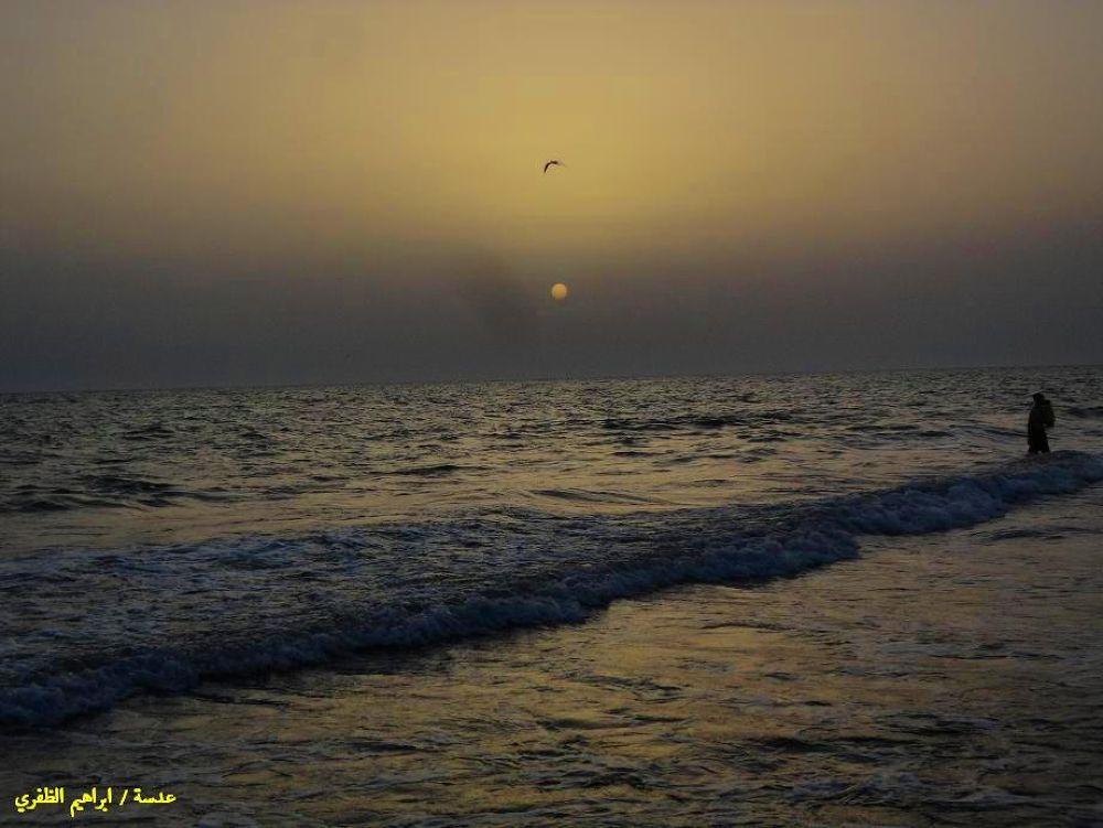 Sunset in the province of Hodeidah by ibrahimyahya