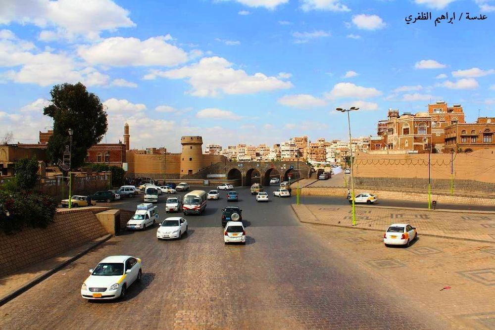 Side of the old city of Sanaa by ibrahimyahya