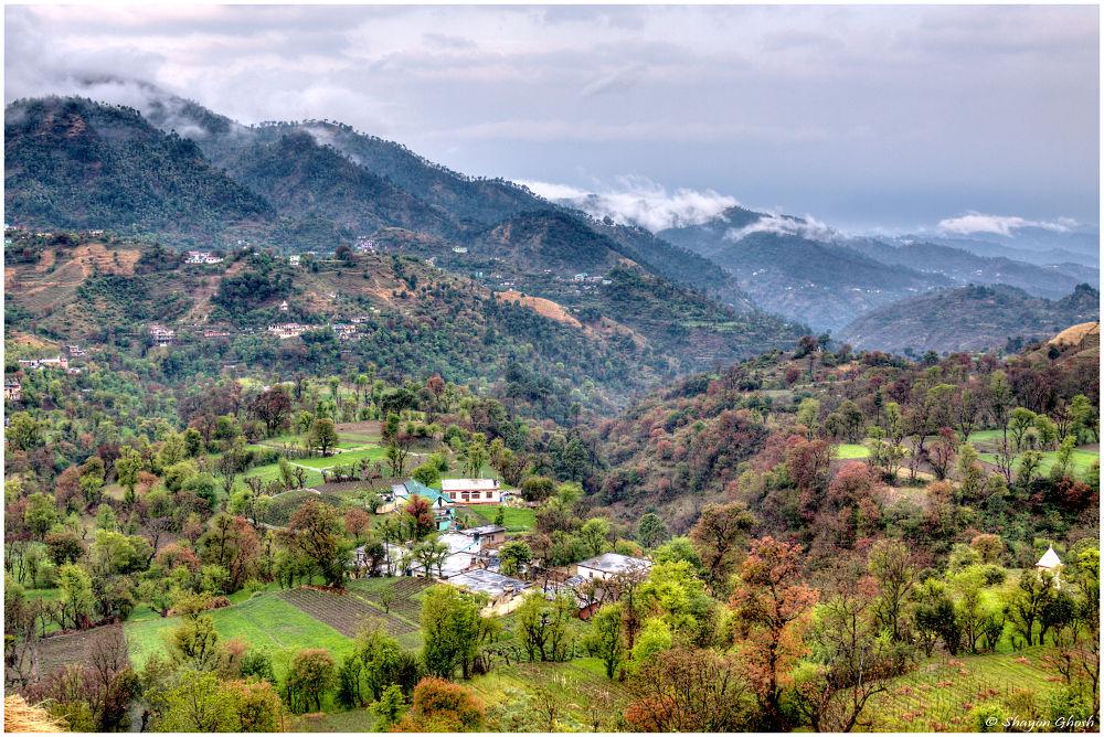 Photo in Random #canon #canon 50d #ef24-105mm #landscape #valley #mountain #himachal pradesh #india