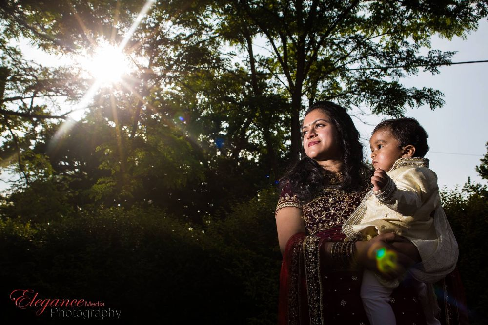 Mother and son portrait from a birthday party by Amin Islam