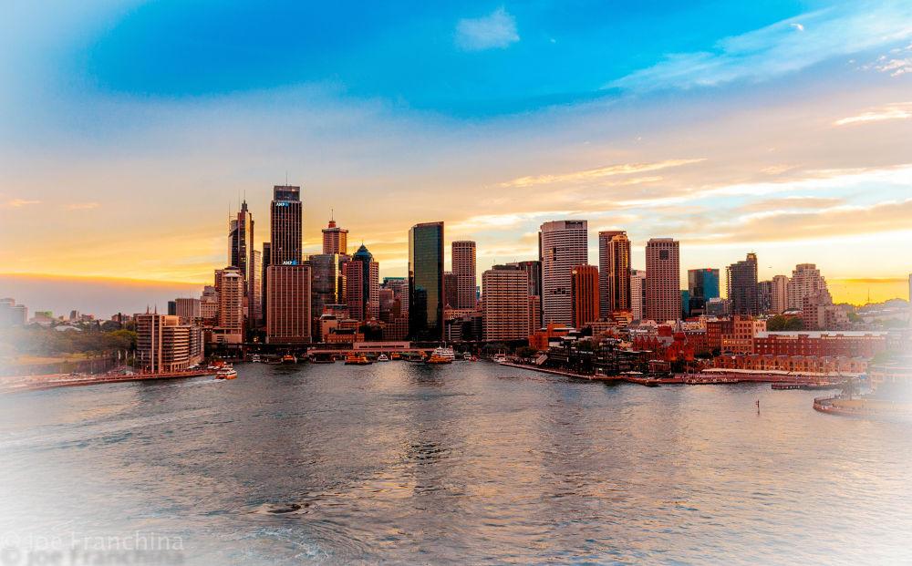Sydney Sunset by JoeFranchina