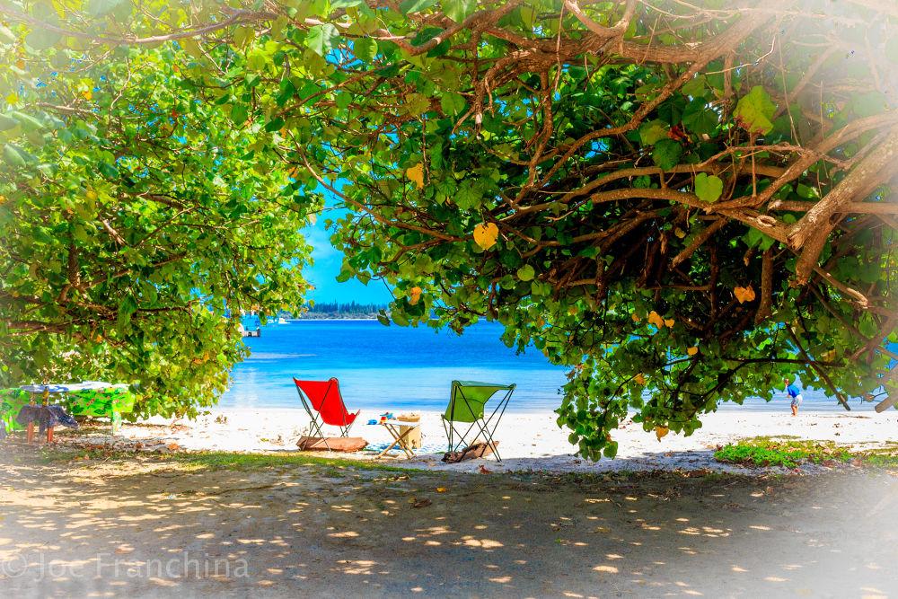 New Caledonia Beach by JoeFranchina