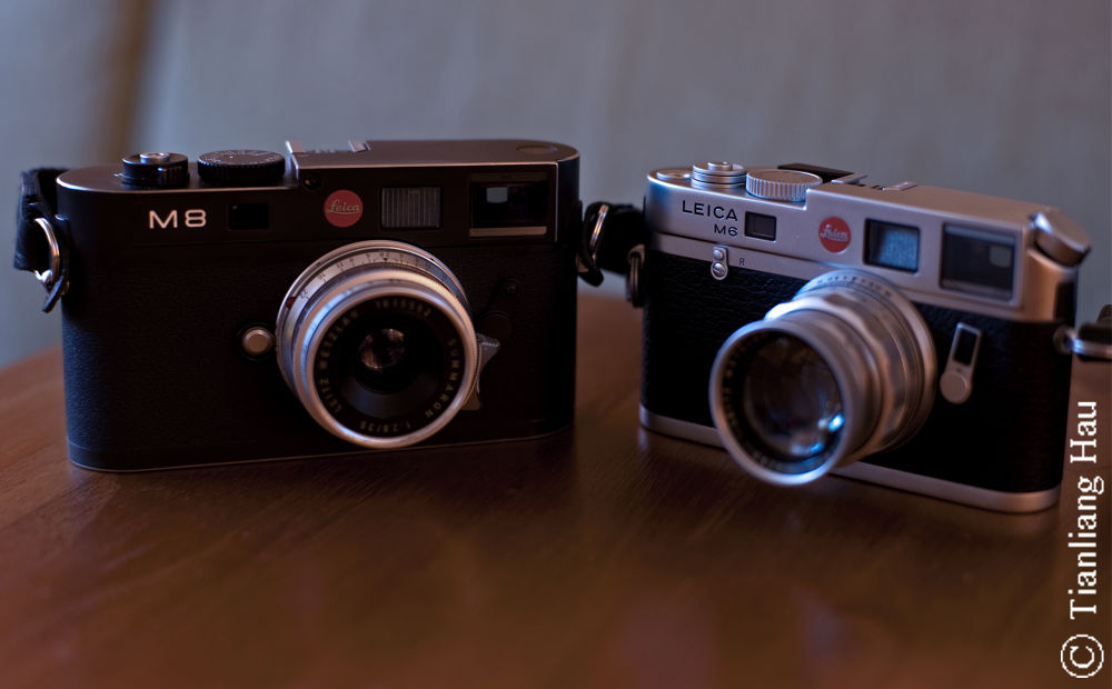 My Leica Rangefinders by Tianliang Hau