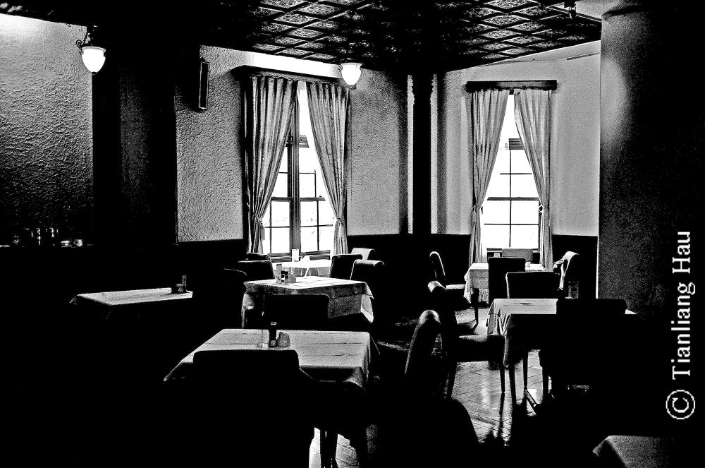 An Old Café @ Zhongshan Hall, Taipei by Tianliang Hau