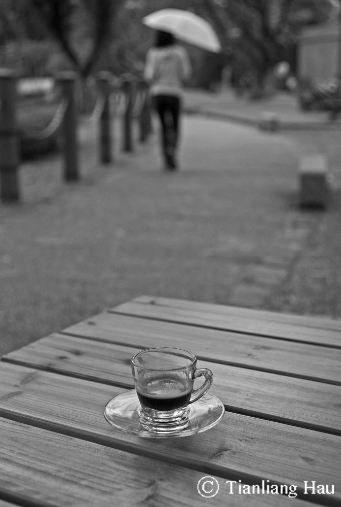 Espresso in a Misty Autumn Afternoon  by Tianliang Hau