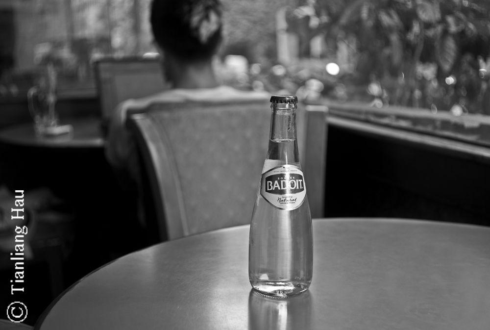 Badoit in the Café   by Tianliang Hau