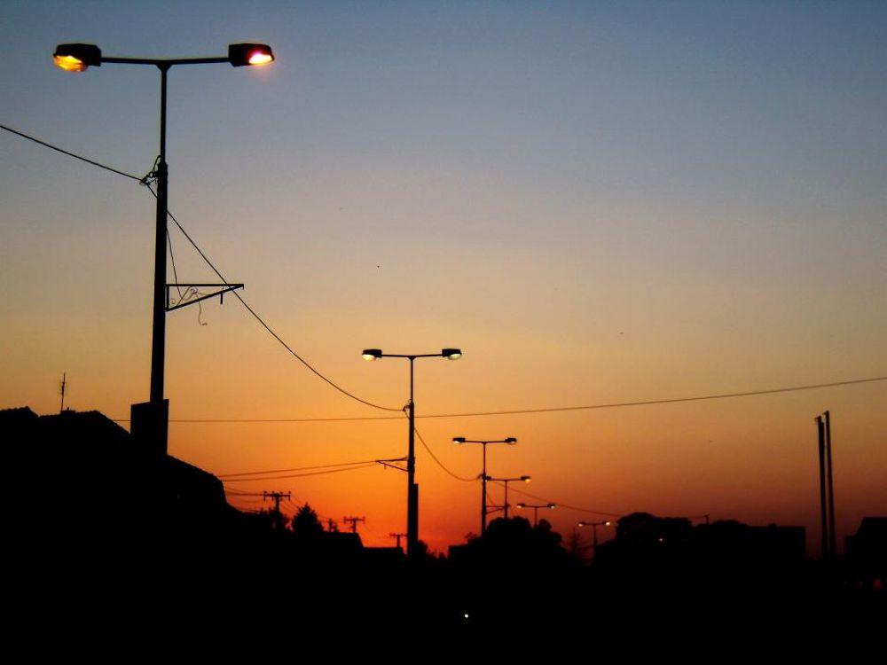 sunset by zelenasovica