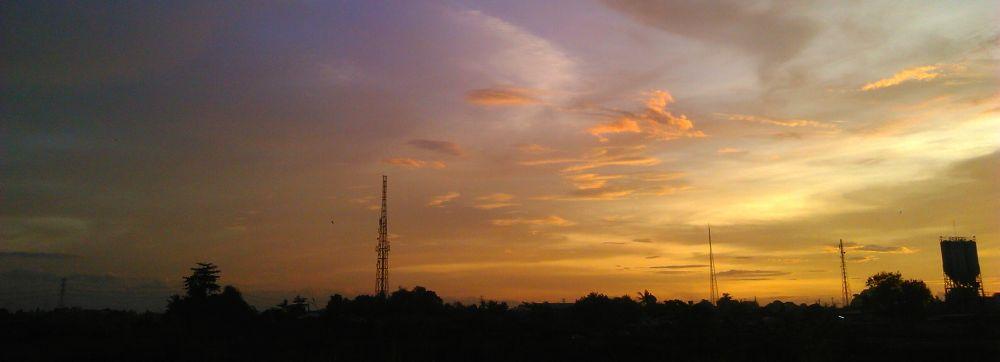 #sunset by Naufalbhots