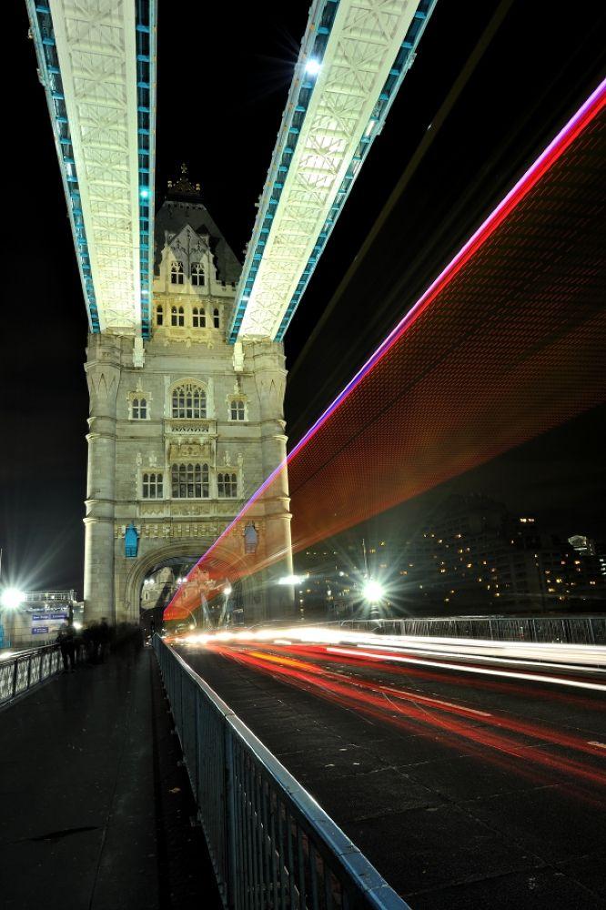 Tower Bridge, London. by Mark Andreas Jones