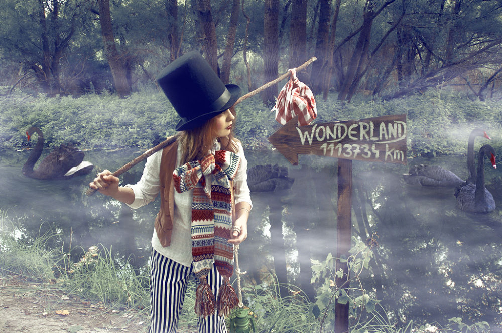 Find your way to Wanderland by Yappluie