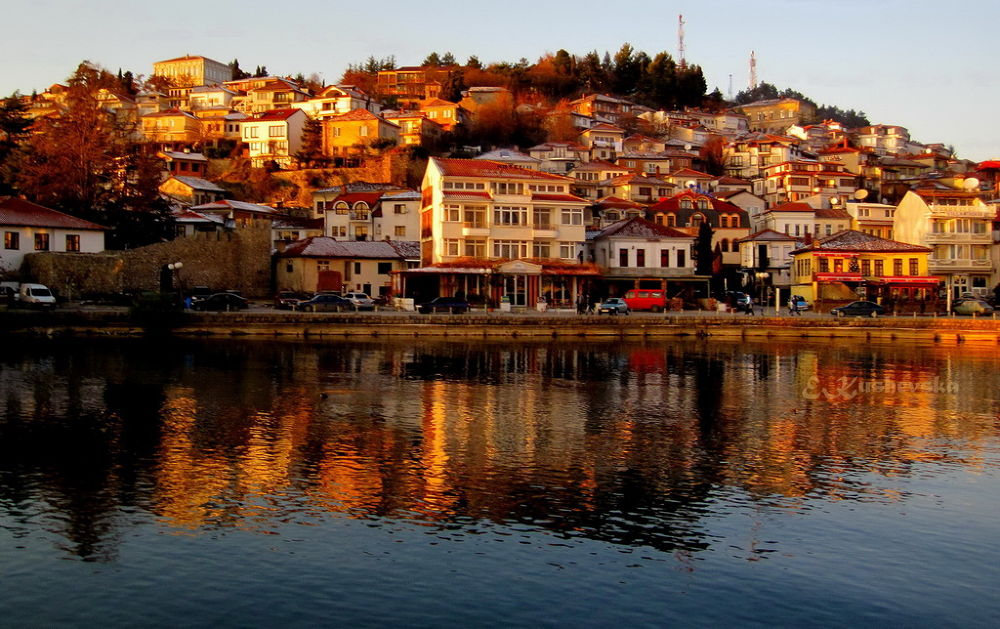 Golden Hour In Ohrid by Ema1956