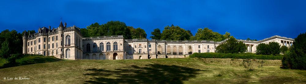 Château de la Mercerie, panoramique. by Lou de Kerfrec