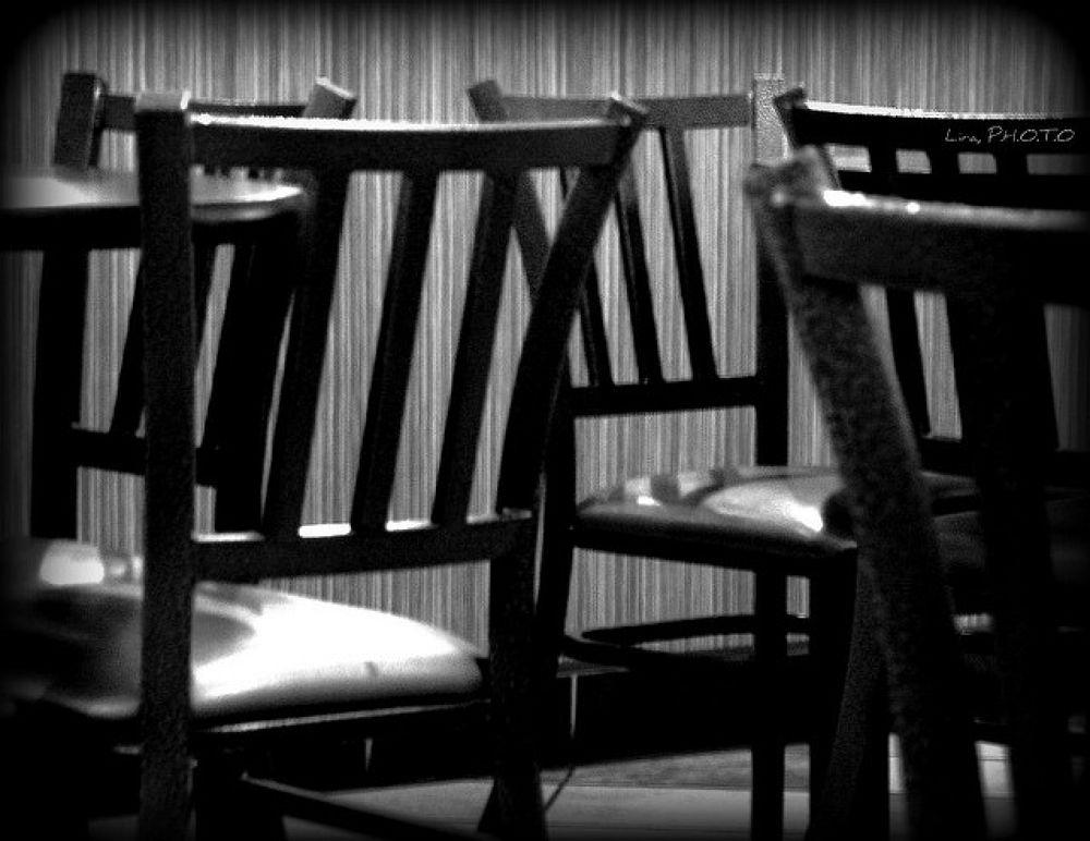 S'il vous plaît, prenez un siège by luisclira