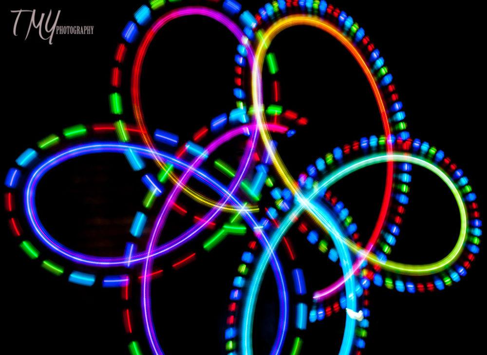 Elemental Light Dancing by Laure Lombardo