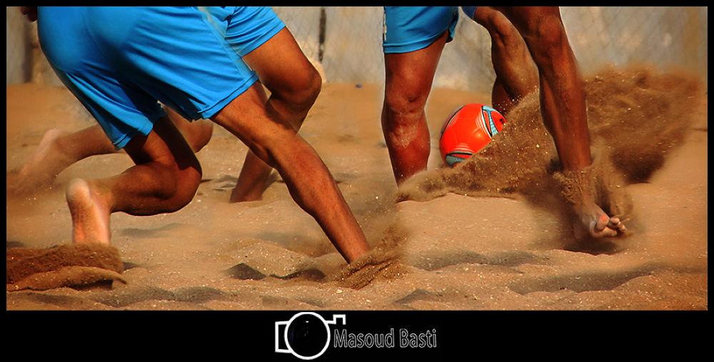 beach soccer by Masoud Basti