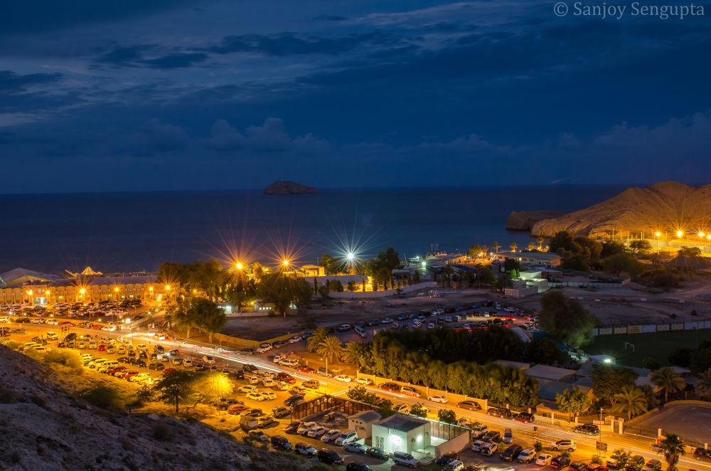 Photo in Cityscape #muscat #night shot #pdo #oman #pdo club #nikon