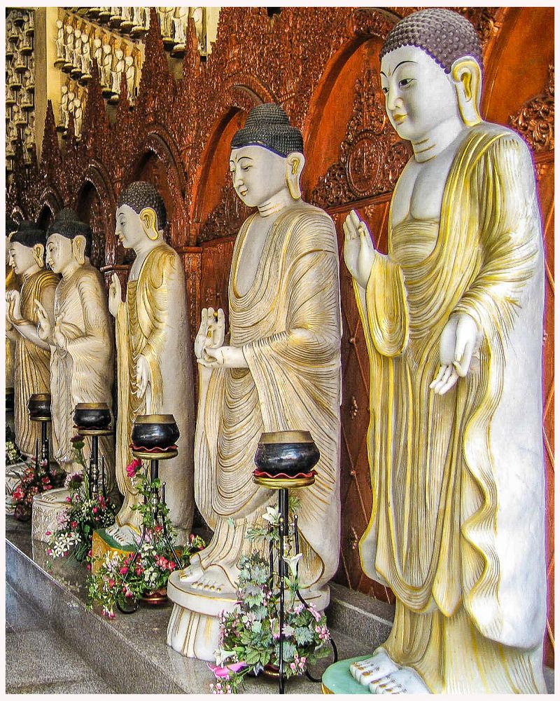 Des Bouddhas by Leo
