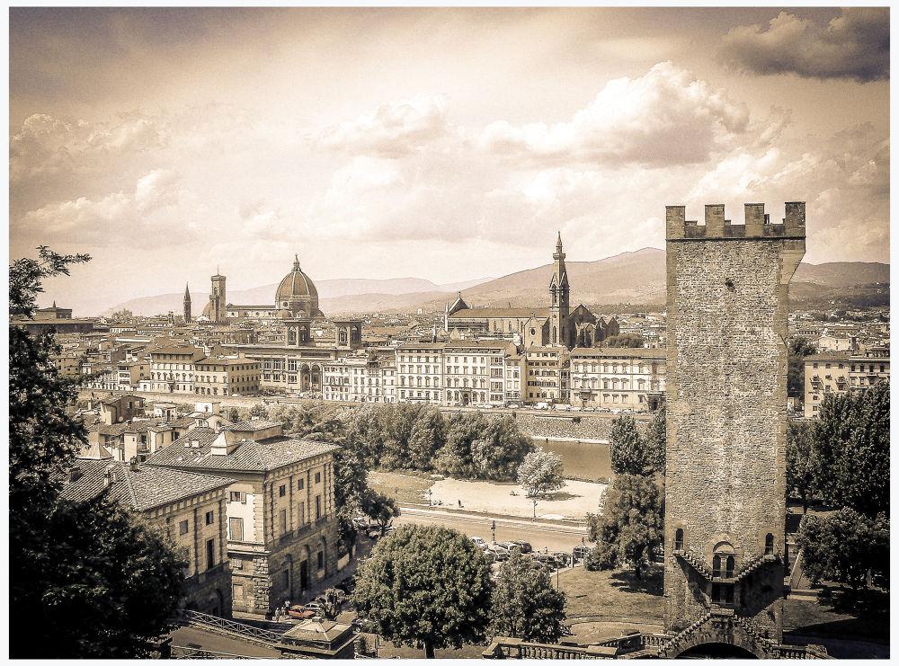 Vue sur Florence by Leo