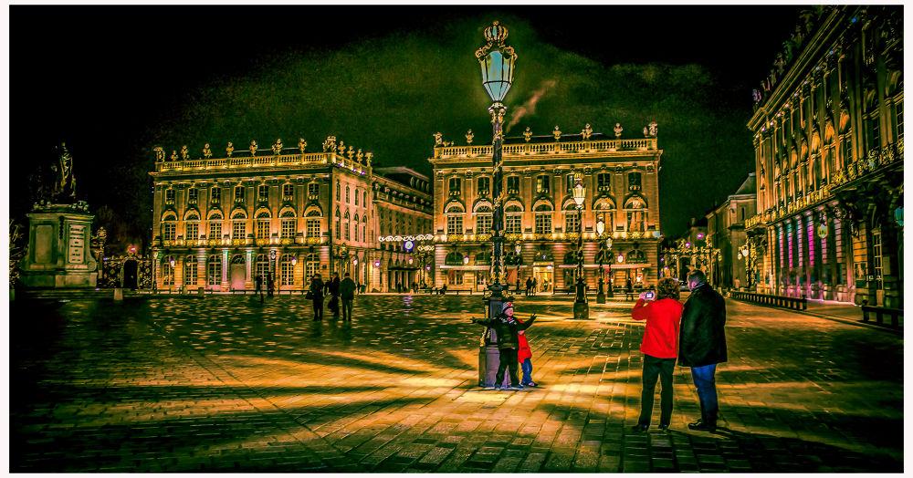 Place Stan - Nancy - France by Leo