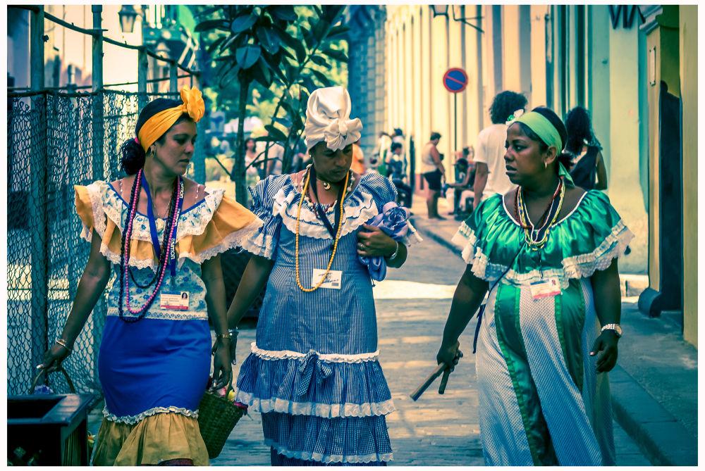 Jolies cubaines by Leo
