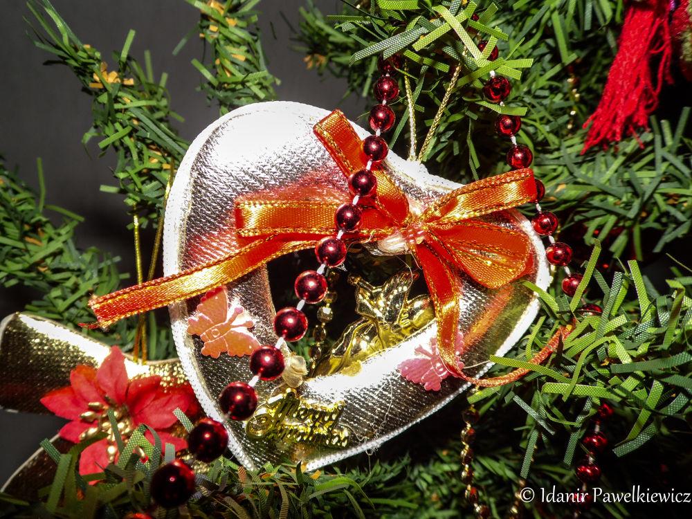 coração natalino by Idanir Pawelkiewicz