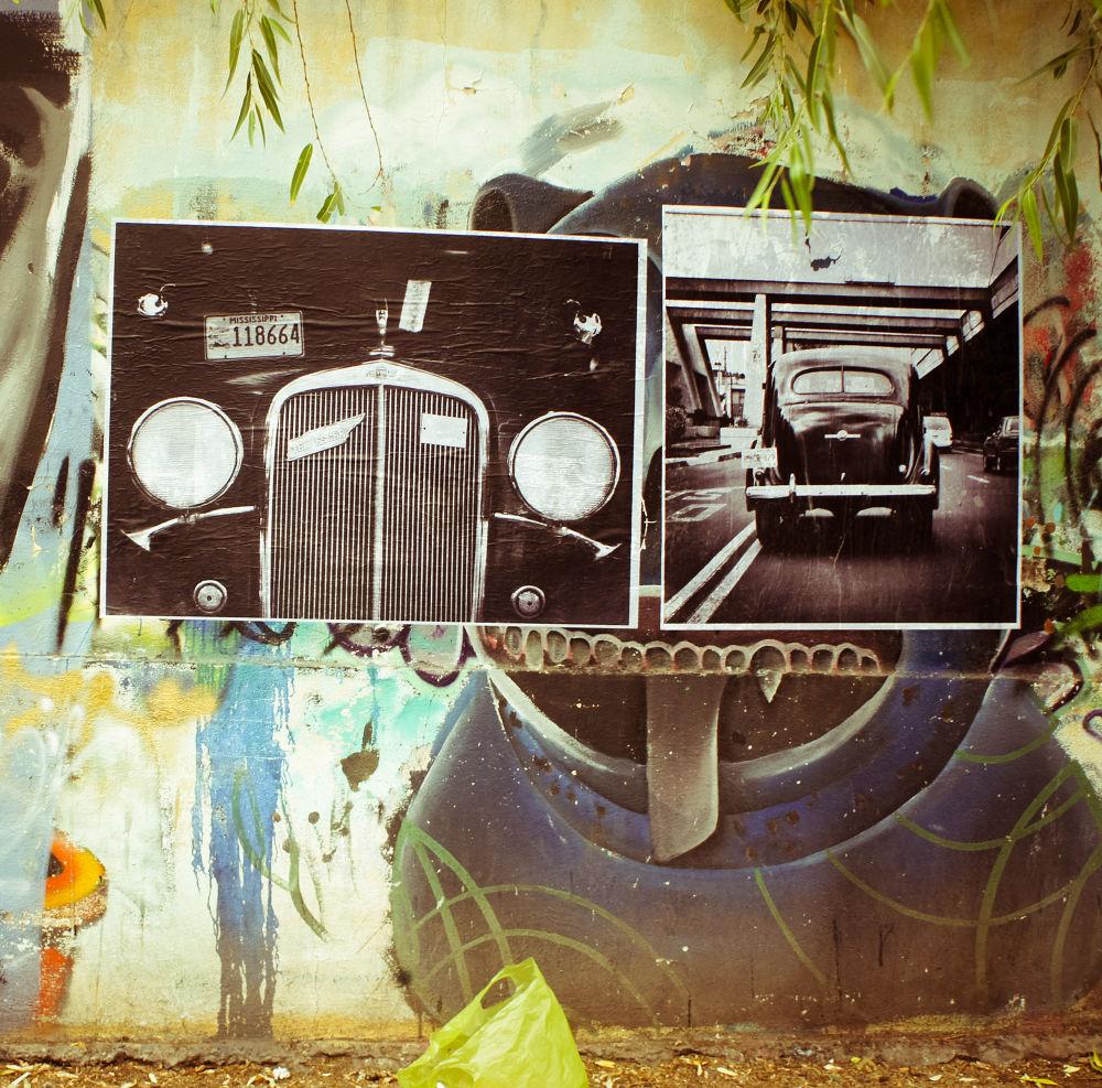 My work in street art mode by Leonardo Medina