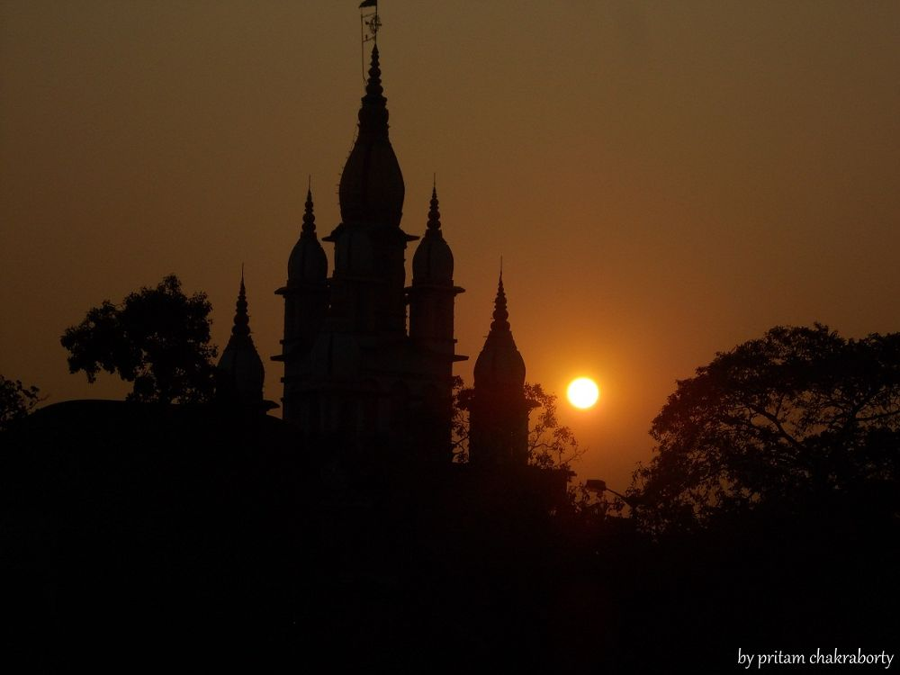 in evening time by Pritam Chakraborty