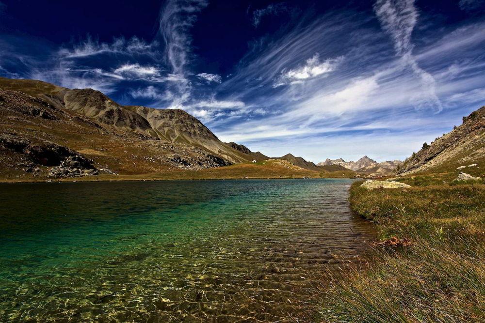 Lago Lauzanier FR.  (M.2284)  by  Graziano Biancheri