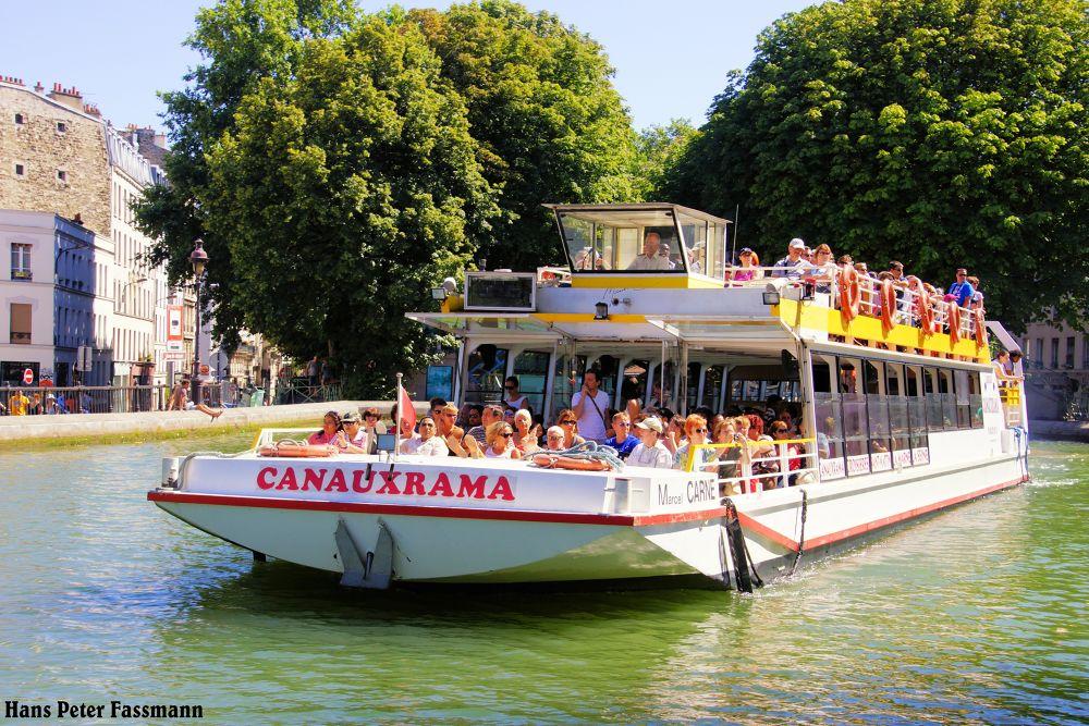 paris-Canal ! by hanspeterfassmann