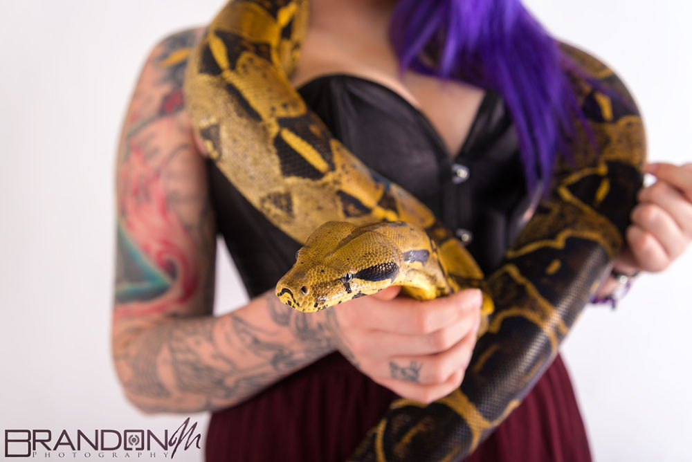 Photo in Random #snake #tattoos #inked #sexy #reptiles #women