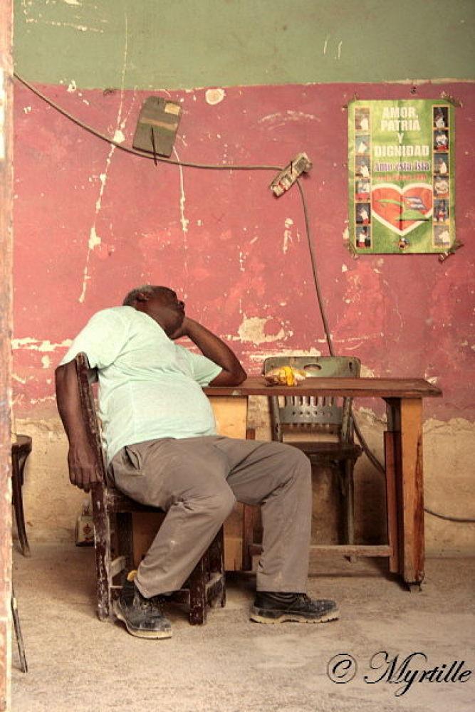 La Habana siesta by Myrtille