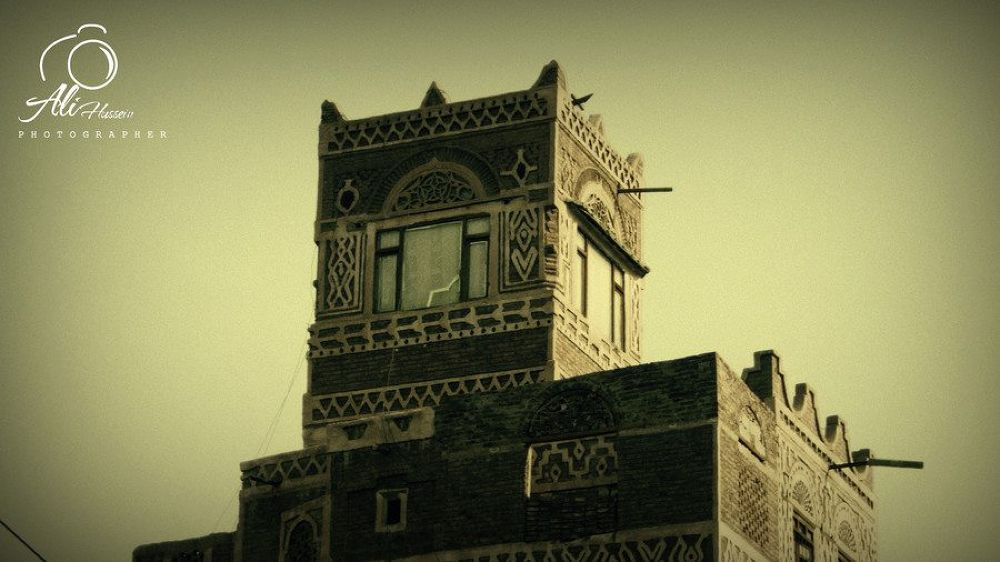 old house in old sana'a by alihussein