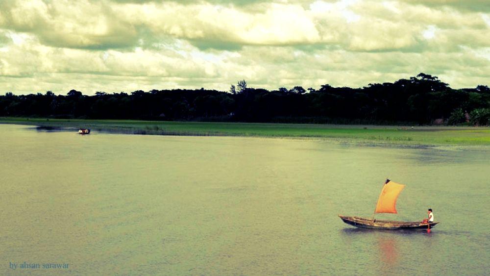 @Kirtonkhola River... by Ahsan Sarawar
